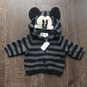 NEW Mickey Mouse Disney Baby Gap hoodie